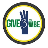 Give 3 for WBE!