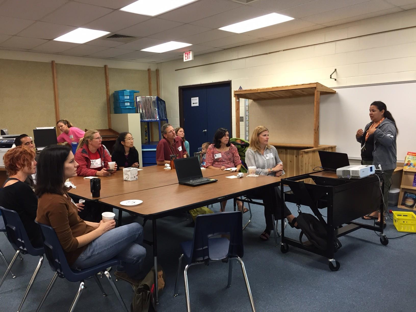 Parent Coffee University Recap 10 16 2014 Wells Branch