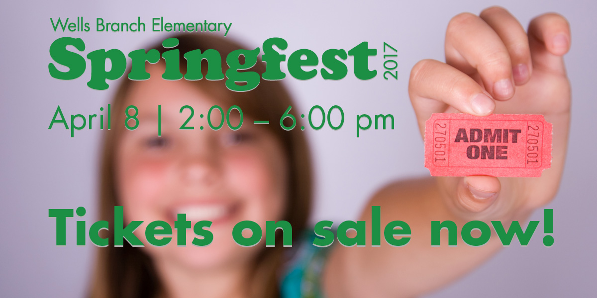 Springfest tickets on sale now!